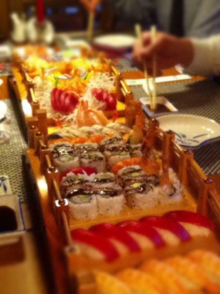 gemischte Sushi Platte