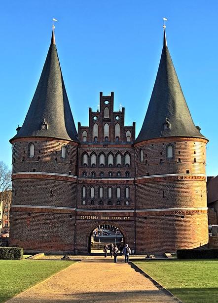 Das Hostentor in Lübeck