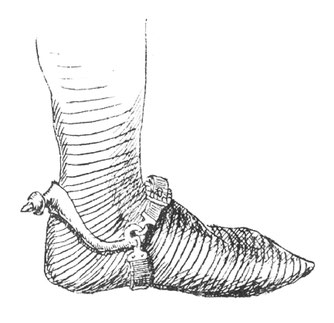 Foot of a tomb monument of Duke Henry IV of Silesia, 13th century.