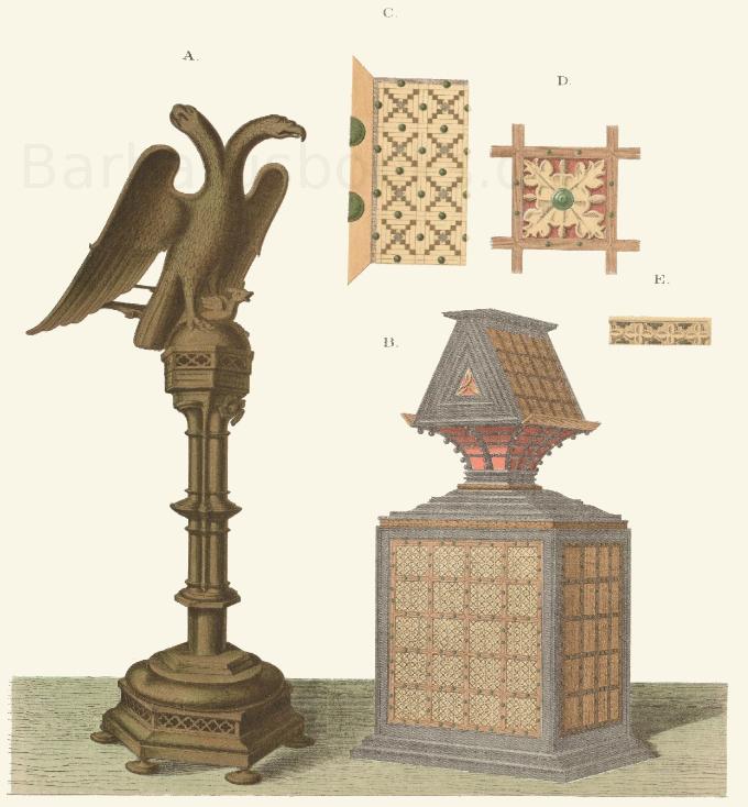 Chorpult aus dem 15. Jahrhundert.
