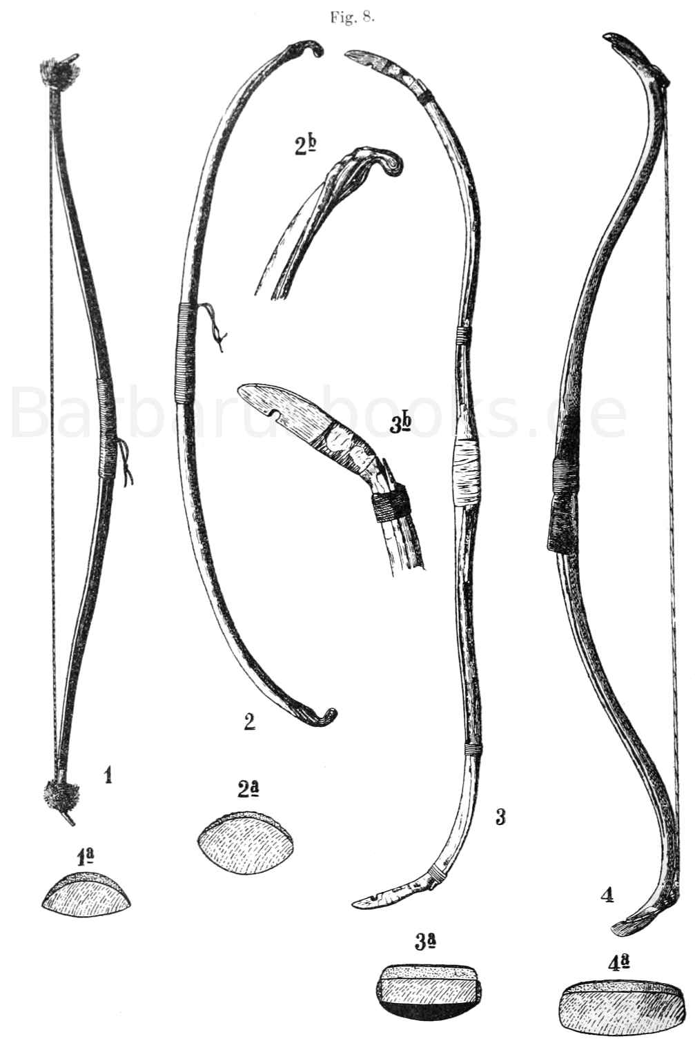 Indianderbogen Kalifornien und Baschkiren-Bogen