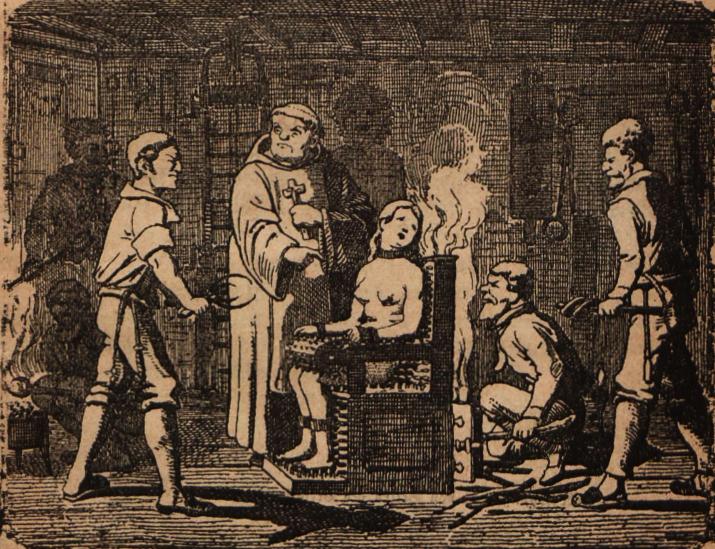 Folterkammer, Hexenverfolgung, Tortur, Folterknecht, Mittelalter