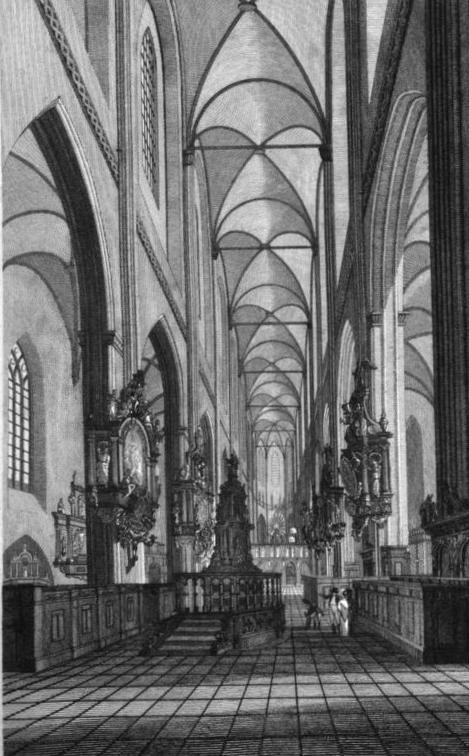 St. Marienkirche historische Ansicht