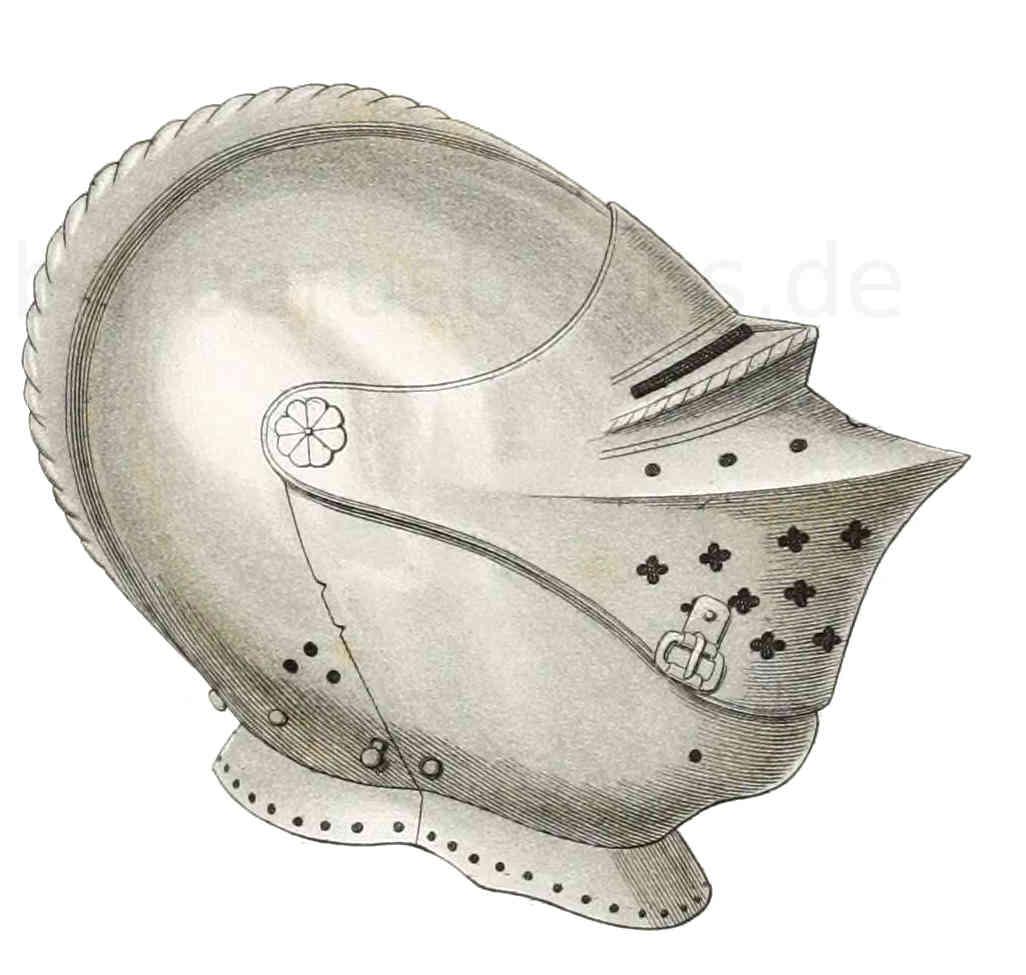 Helm aus der ersten Hälfte des 16. Jahrhunderts