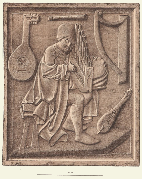 Organist Conrad Paumann (gest. 1476), nach dessen Grabdenkmal