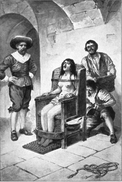 Der Hexenstuhl - Folterinstrument