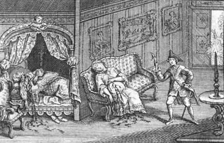 Mordprozess an dem Elternmörder Petrus Franciscus von Gravier 1768 in Paris