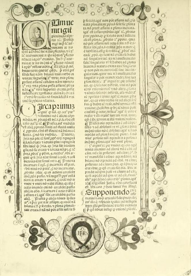 Duns Scotus. Venetiis 1477.
