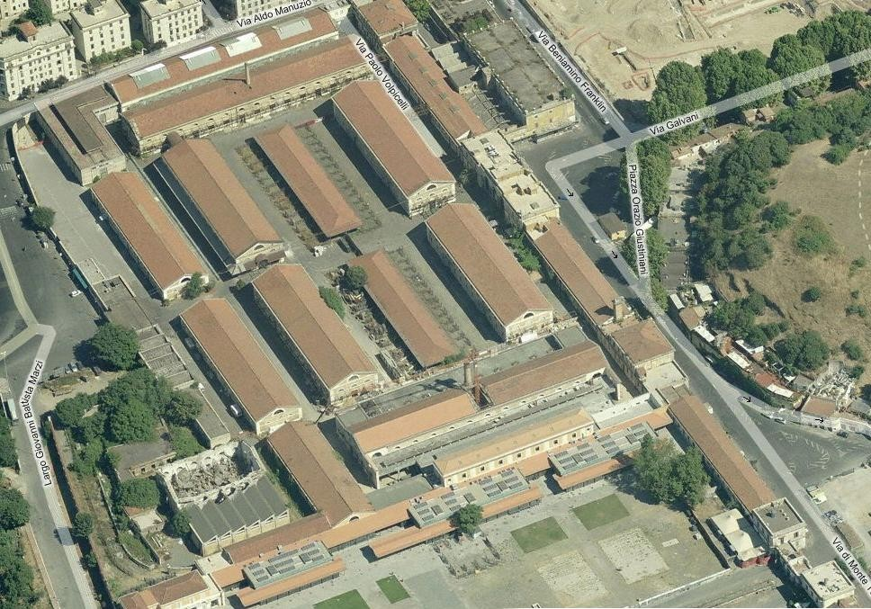 Progetto definitivo per l 39 insedimento dell 39 universit for Elenco studi di architettura roma
