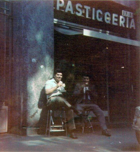 """Un momento di """"pausa"""" sempre in Viale Romagna."""