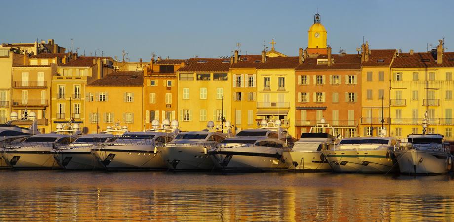 Les yachts de St Tropez
