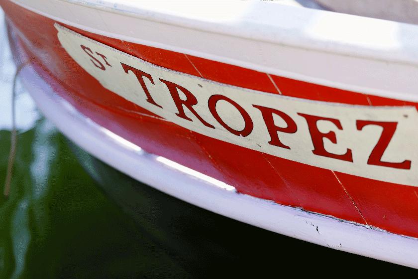 Les barques de St Tropez