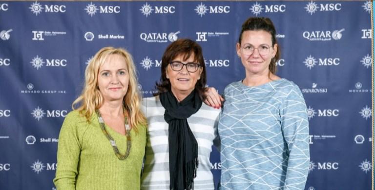 vlnr, Cornelia Deger, Carmen Witte, Beatrice Homeyer