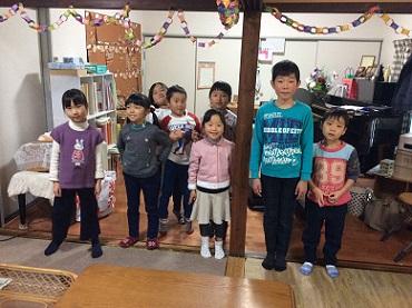 クリスマス会 2017 教室
