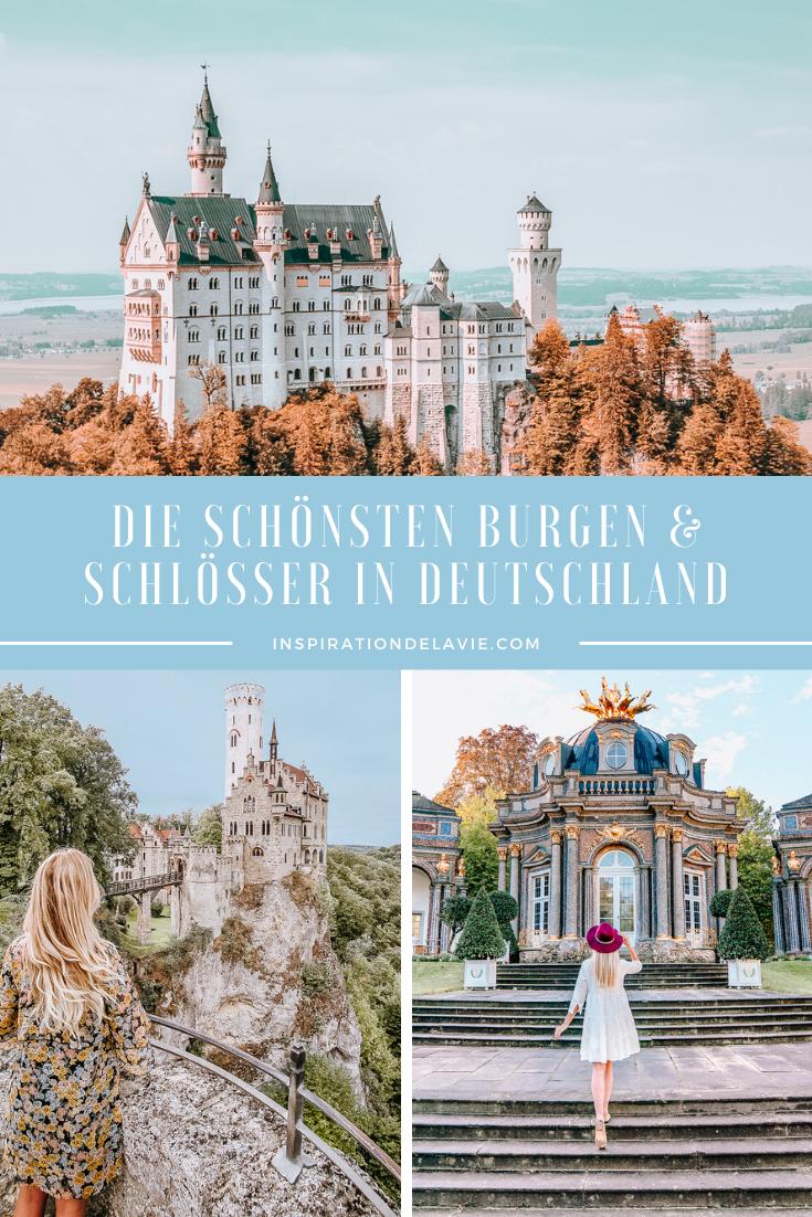 Die schönsten Schlösser und Burgen in Deutschland - Liste mit Geheimtipps und Bildern