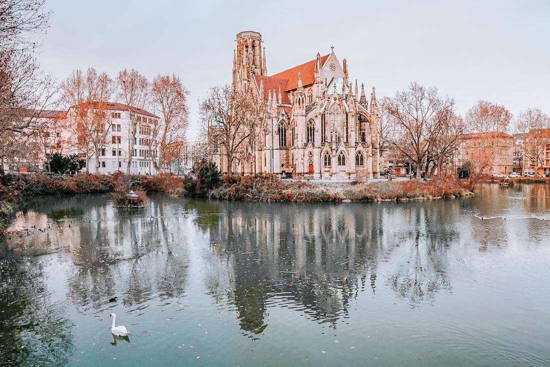 Feuersee in Stuttgart