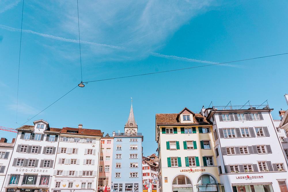 Die besten Instagram Spots in Zürich - Altstadt.