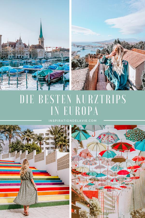 Finde Ideen für euren Wochenendtrip in Europa! In meinem Reiseblog stelle ich die besten Städtetrips, Kurztrips und Wochenendtrips in Europa vor. Mit meinen Städtereisen Tipps und Ideen für einen Kurztrip seid ihr gewappnet für 2020! Ihr sucht nach Ideen