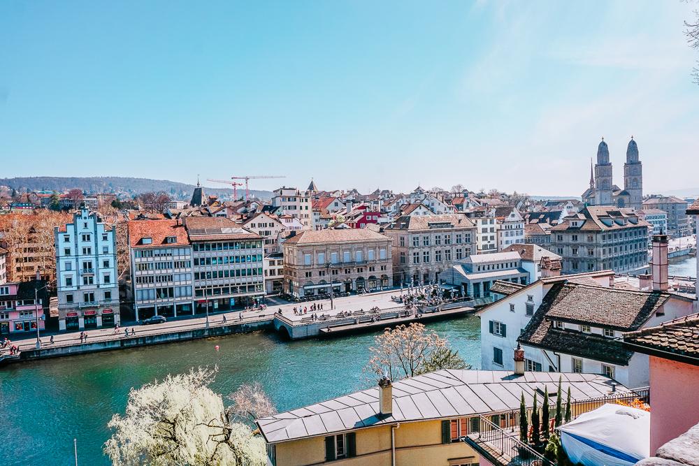 Die besten Instagram Spots in Zürich - Lindenhof.