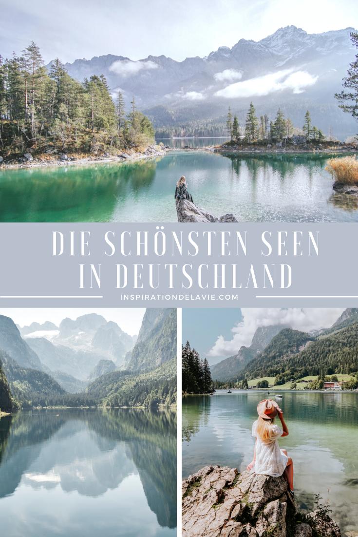 Die schönsten Seen in Deutschland - Tipps für Badeseen und Ausflüge im Sommer 2021