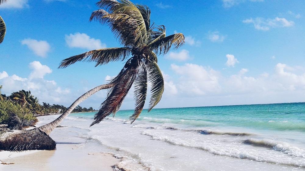 Strand in Tulum, Yucatan