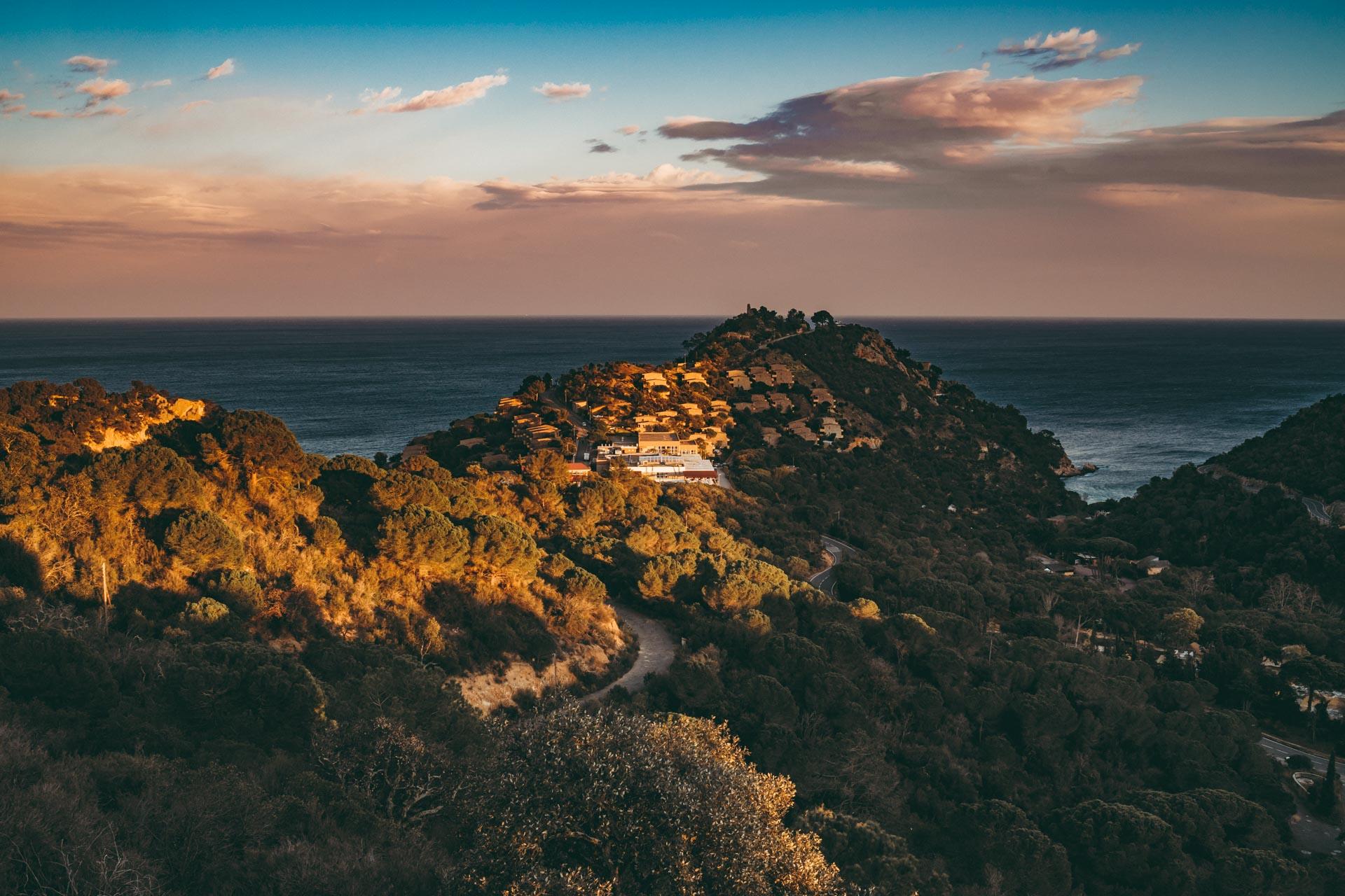 Spanien Tossa de Mar