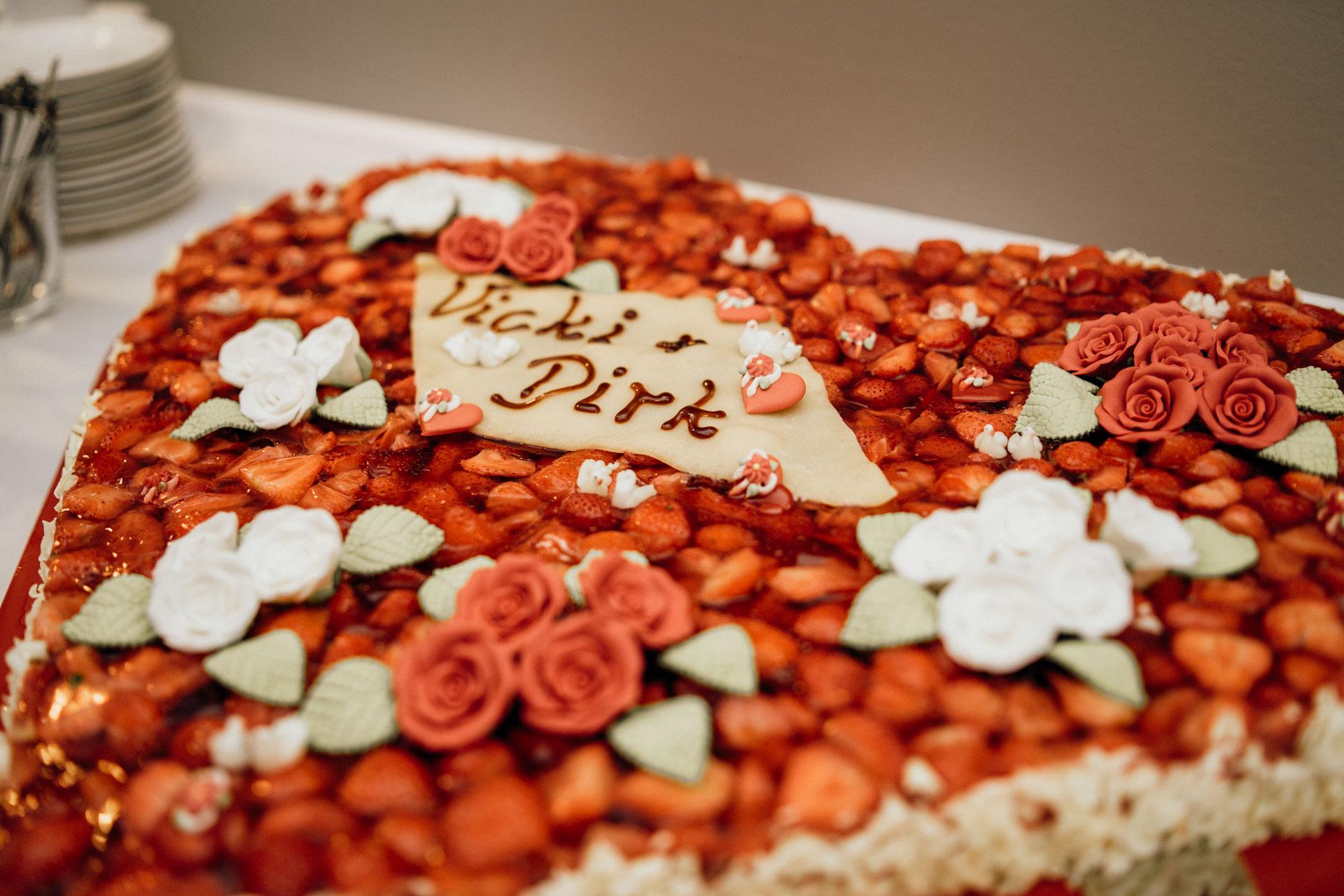 Hochzeitstorte Blattform Wetzlar