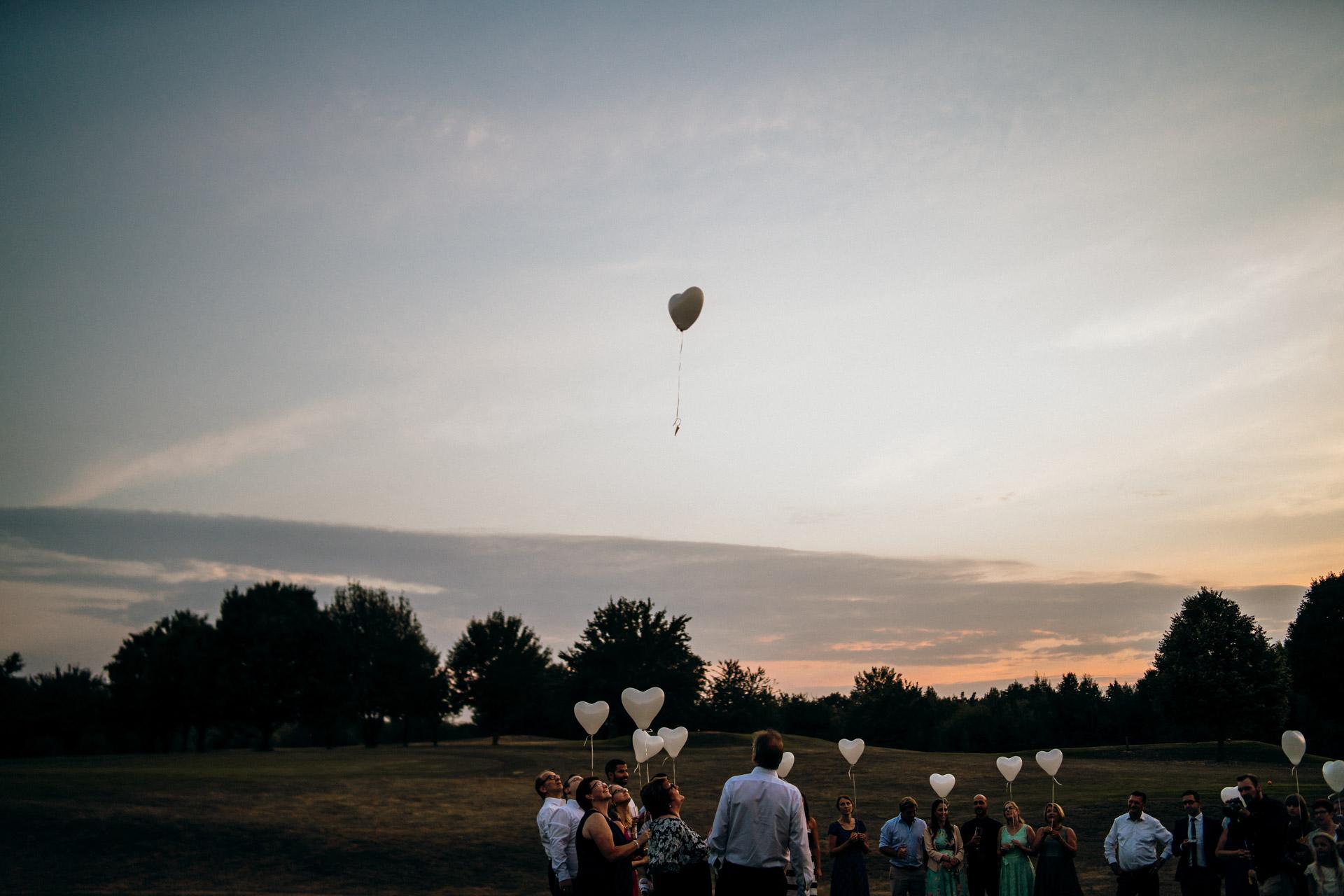 Luftballon Golfplatz Lich Gießen
