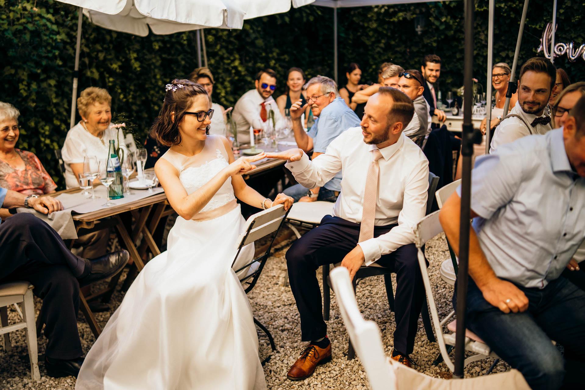 Hochzeit trocken & lieblich weinbar Gießen