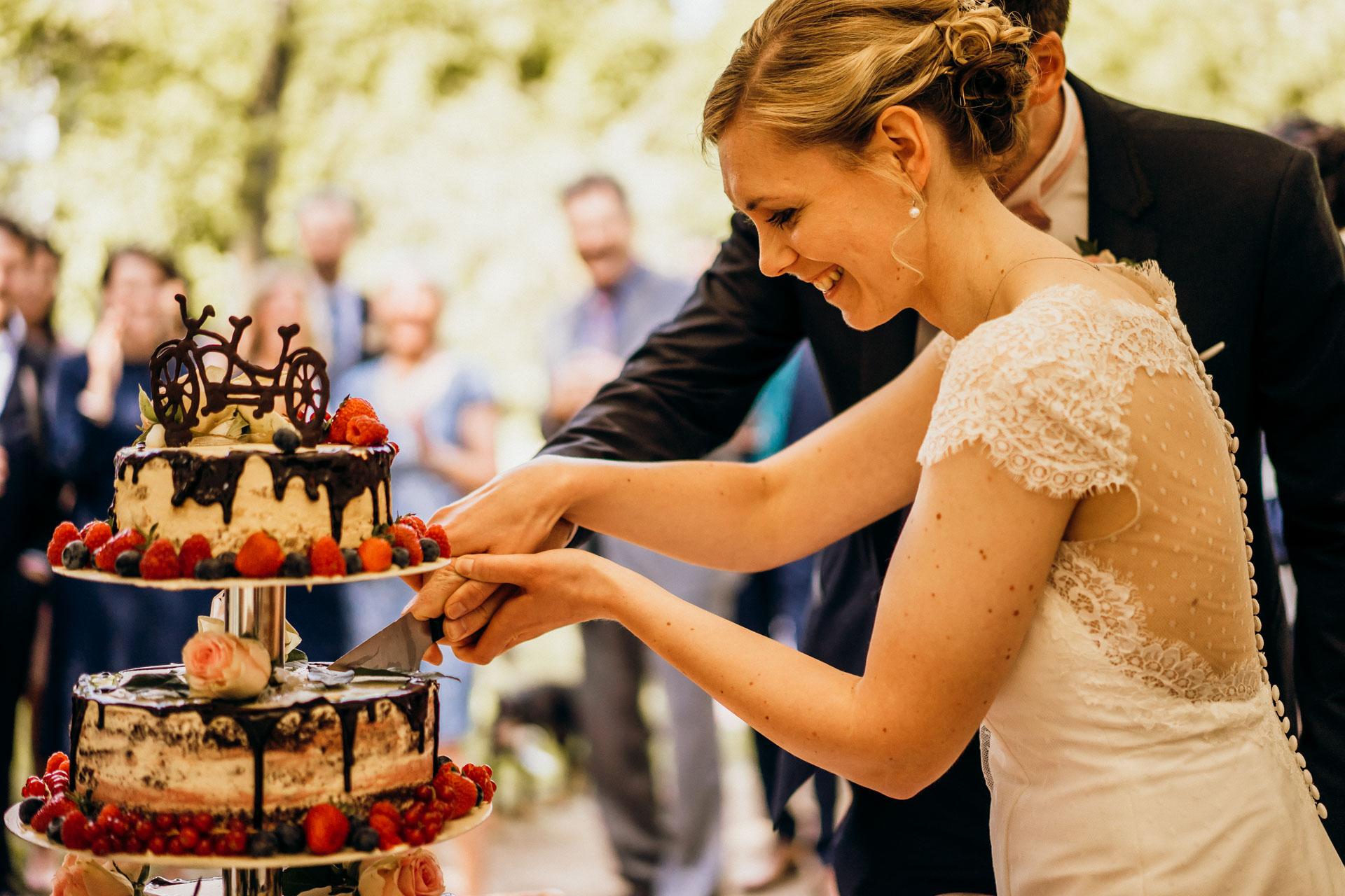 Hochzeitstorte Schloss Romrod