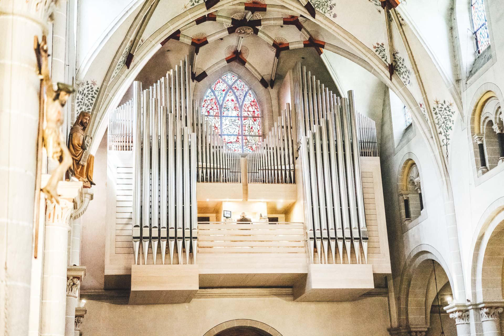 Orgel Basilika St. Kastor Koblenz