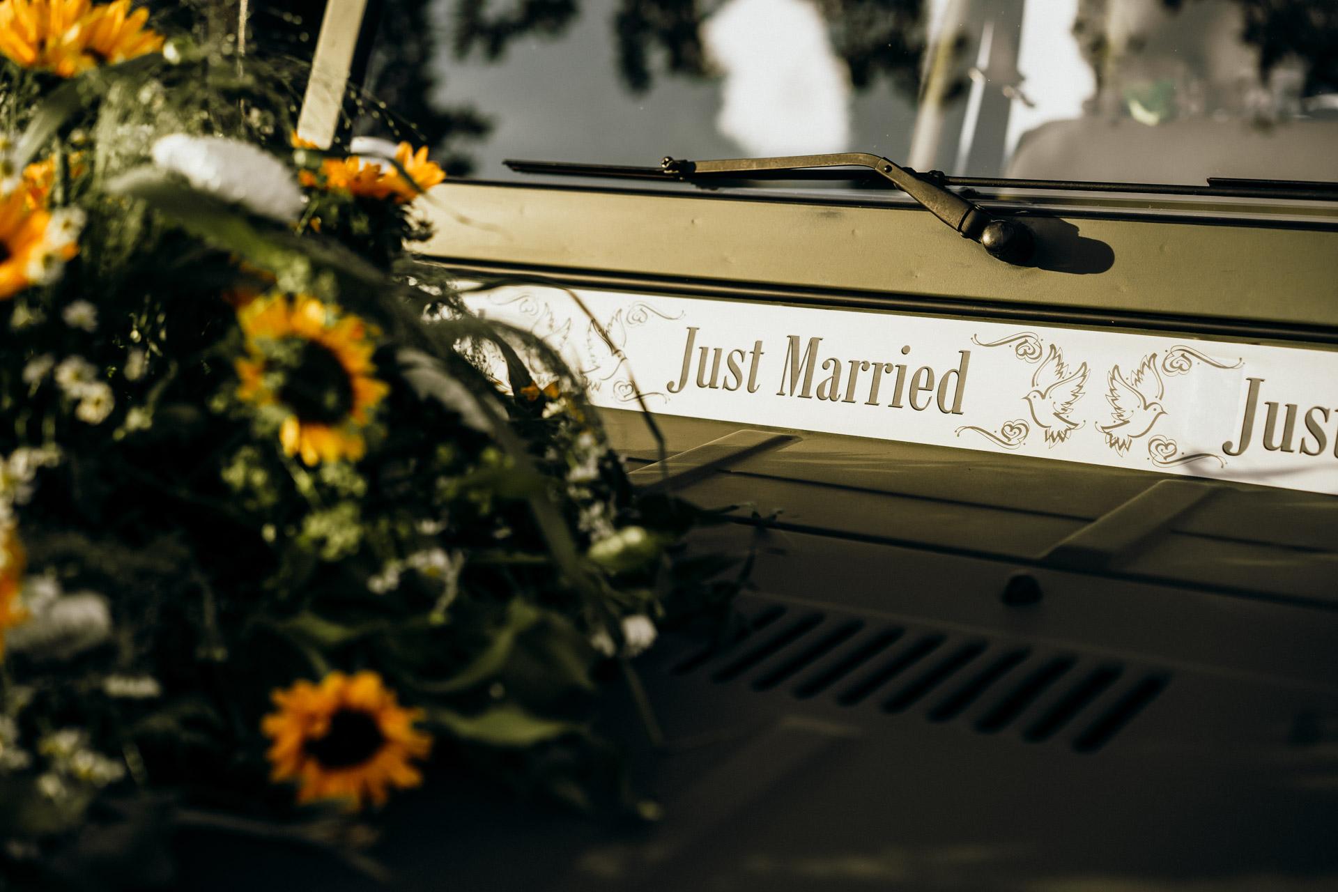 Hochzeitsauto Wetzlar Bismarckturm
