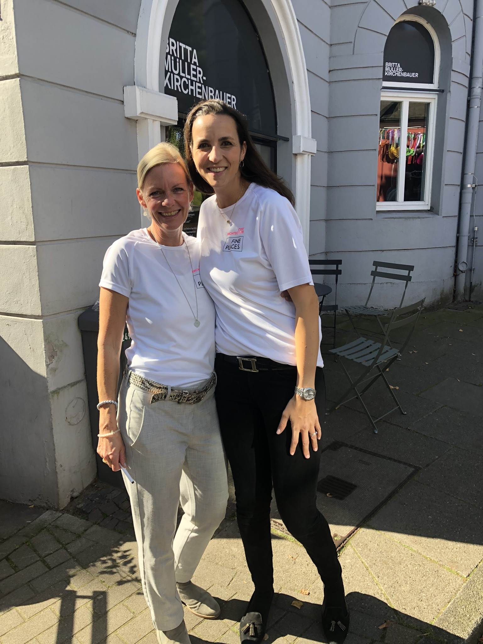 Hatten jede Menge Spaß: Claudia Dorka und Sarah Seifert