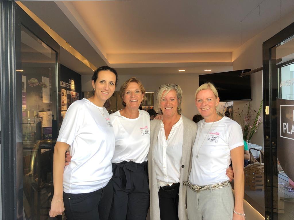 Team von Fine Places mit Britta Müller-Kirchenbauer (Architektin)