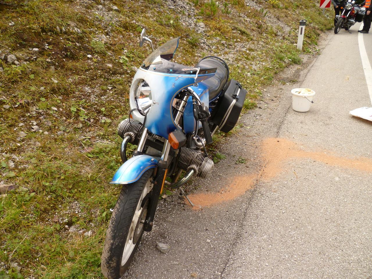 Motorradunfall L72 2012