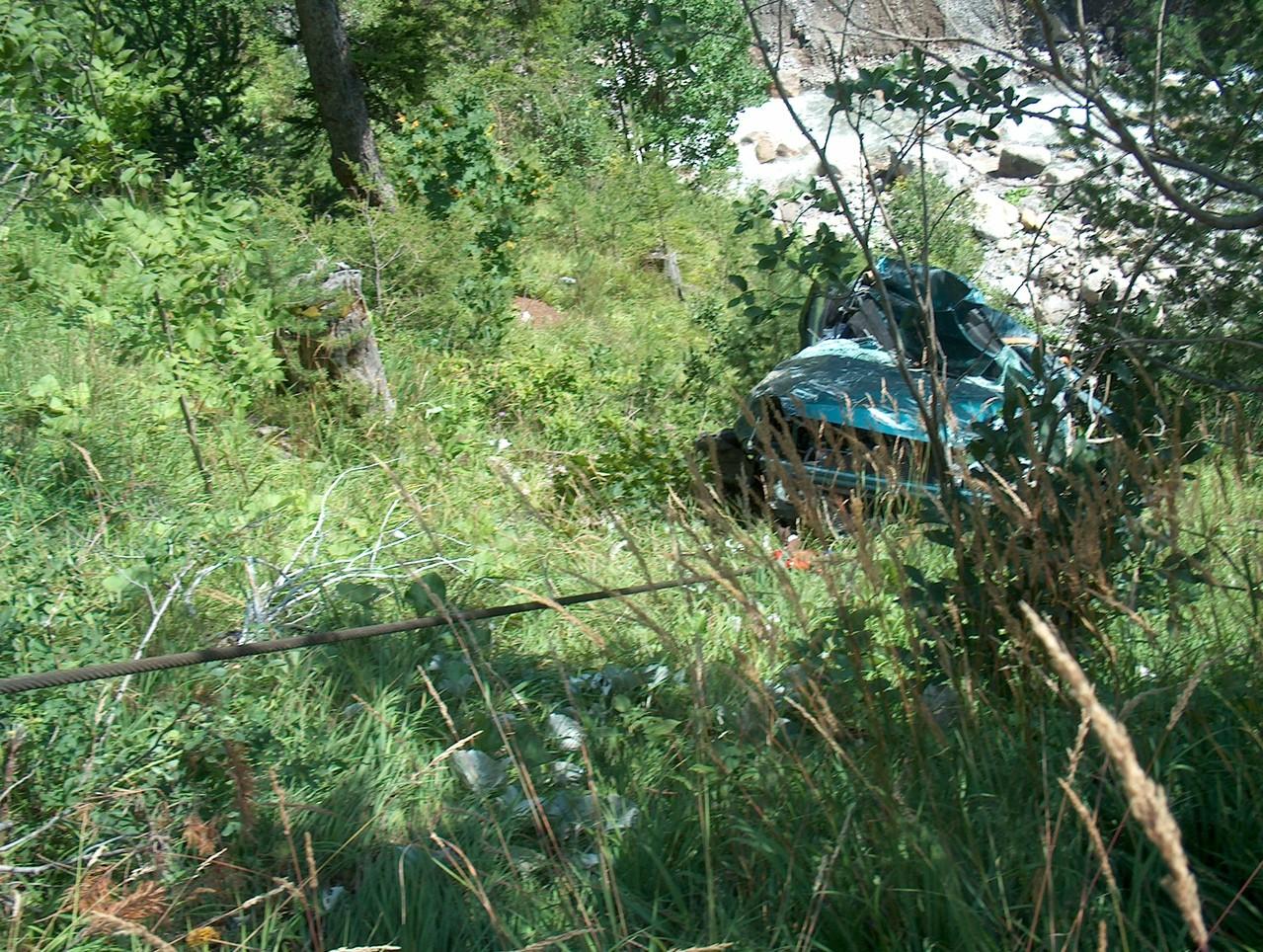 Unfall Plötzigtal August 2008