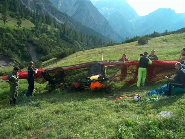Flugzeugabsturz 24.06.2007