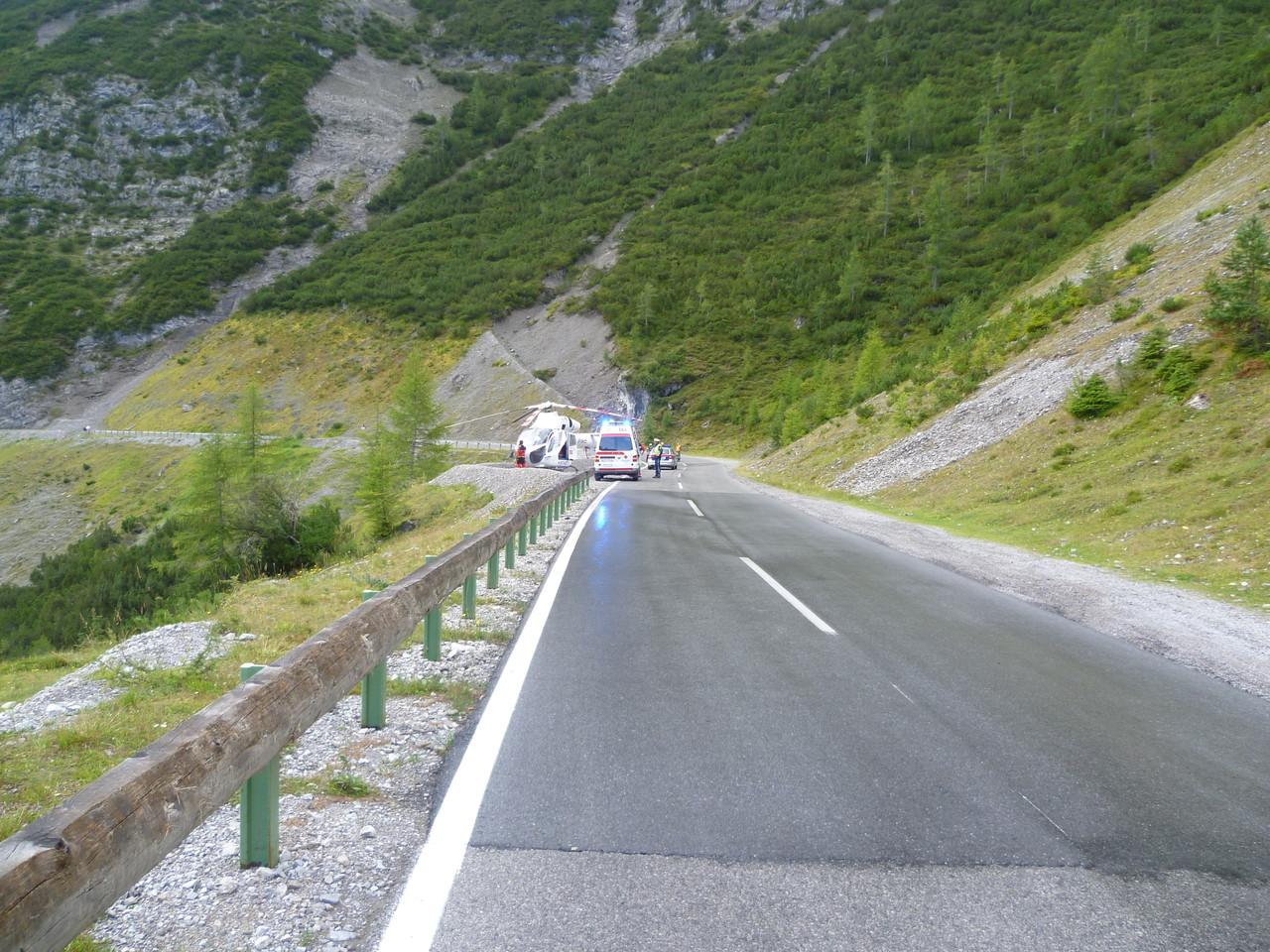 Motorradunfall L 246 2012