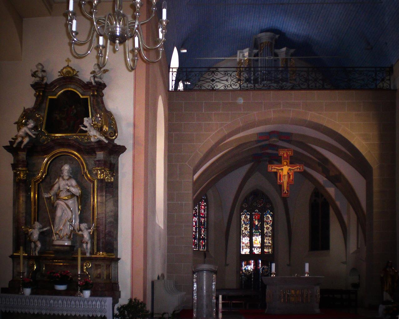 ...zur Marienwallfahrtskirche, ebenfalls in Waghäusel