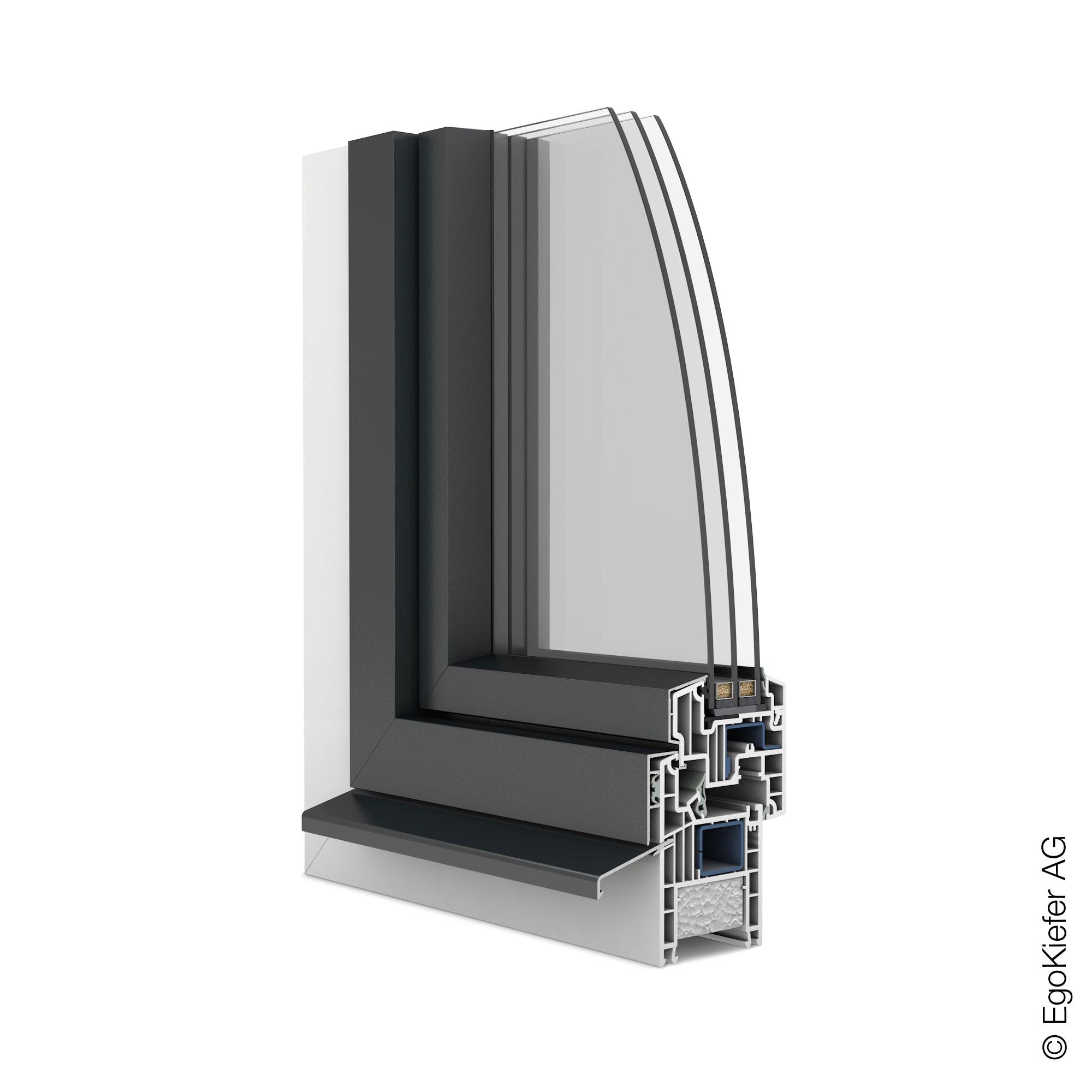 Kunststoff alu fenster as1 k gi fenstertechnik ag for Fenster kunststoff