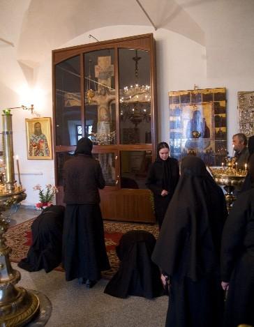 В храме свт. Иоанна Златоуста в Годеново