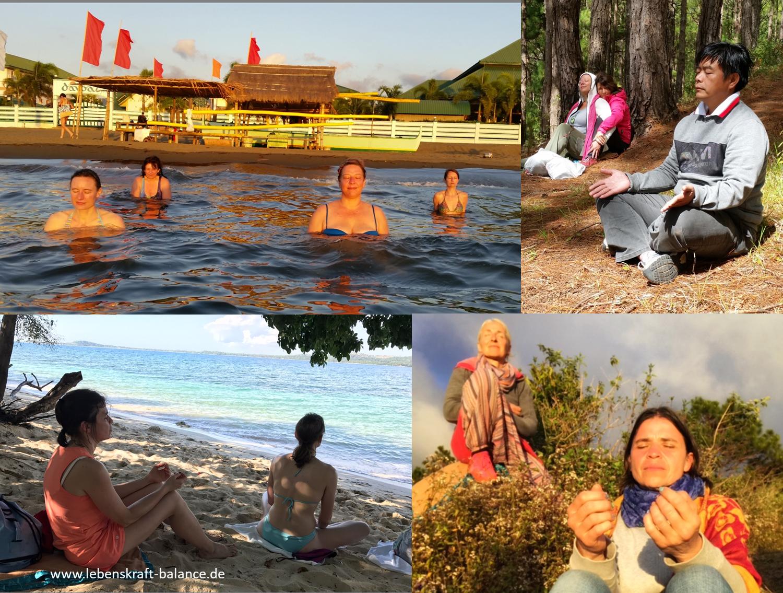 Meditieren auf den Philippinen - Christiane Spindler
