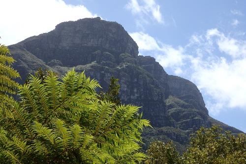 南アフリカの山