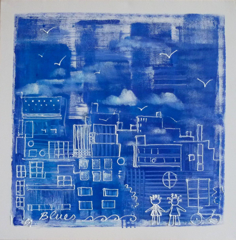 Ville bleue 80x80