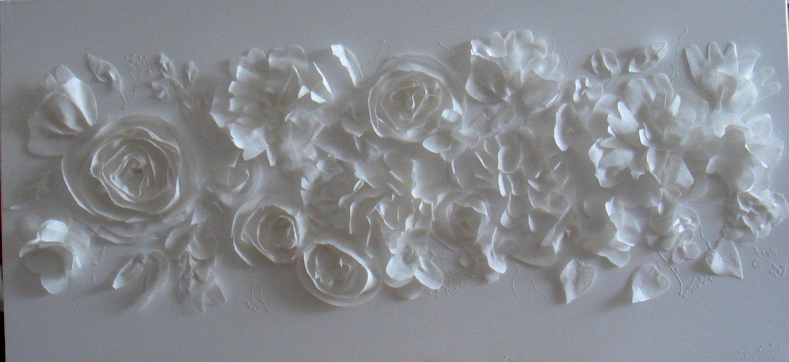 Découpage blanc 100x50