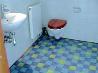 トイレはシンプルと言うかなんと行くか・・・。