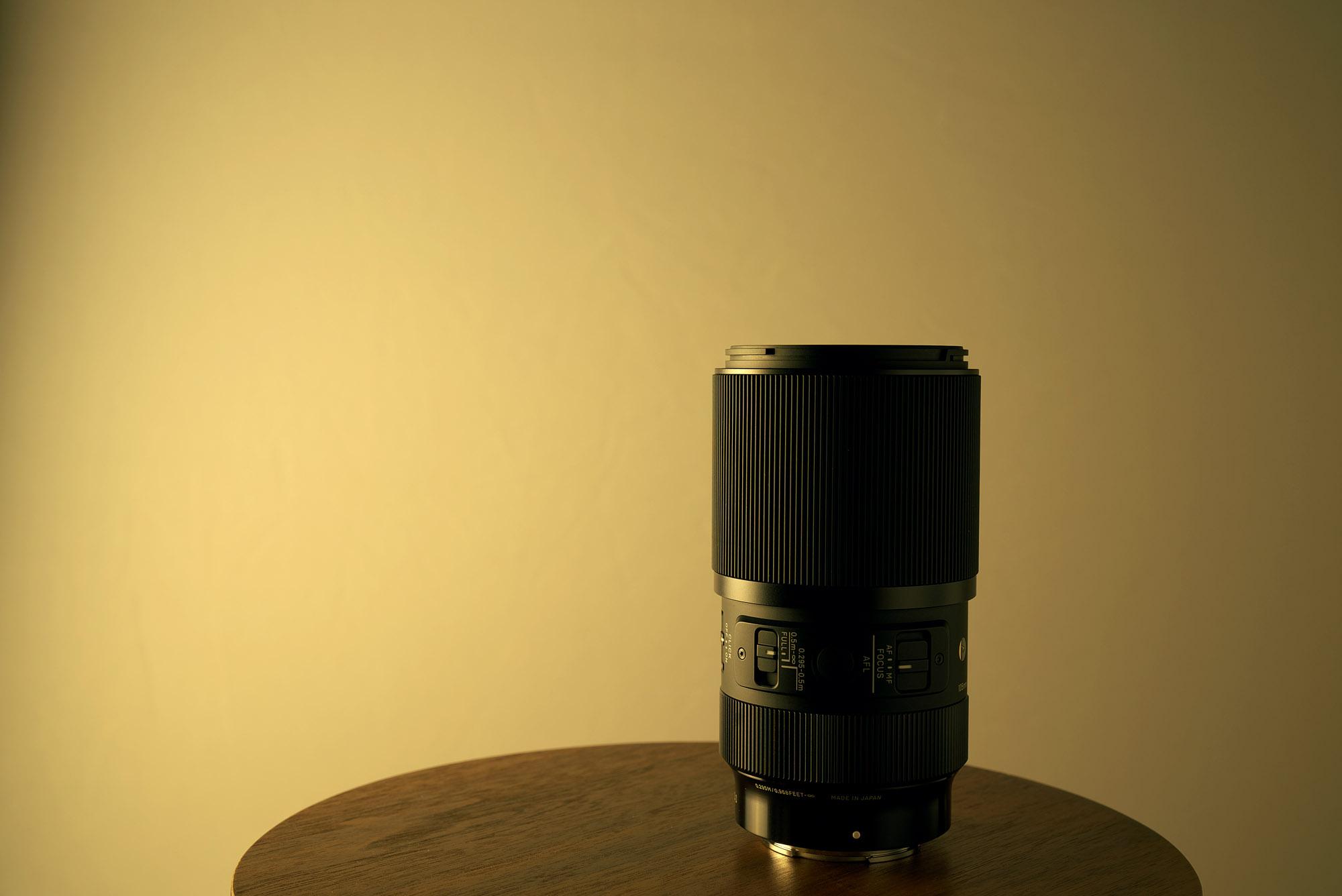 SIGMA 105mm F2.8 DG DN MACRO レビュー