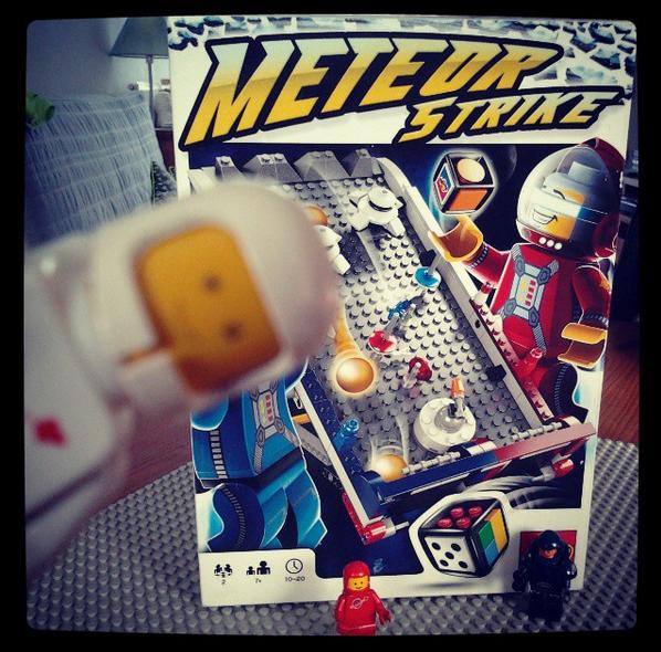 Meteor Strike, jeu de société LEGO