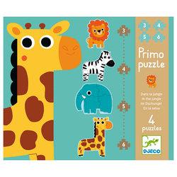 "Primo Puzzle ""Dans la jungle"""