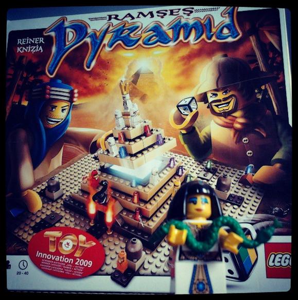 Ramses Pyramid, jeu de société LEGO